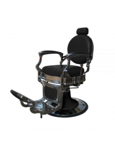 Panda Barber Chair David schwarz Barberstuhl