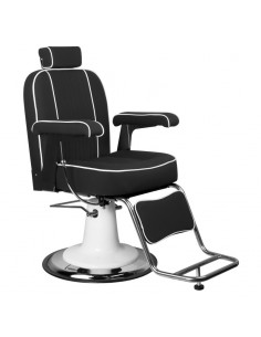 Barber Chair Friseurstuhl unisex TOMMY Make Up Stuhl in schwarz