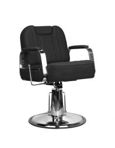 Kundenstuhl BUFO mit flexibler Rückenlehne in schwarz