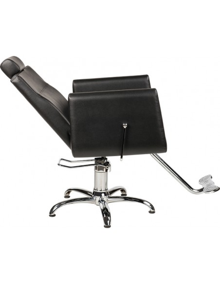 Friseurstuhl Barberchair RAY unisex in schwarz Made in Europe