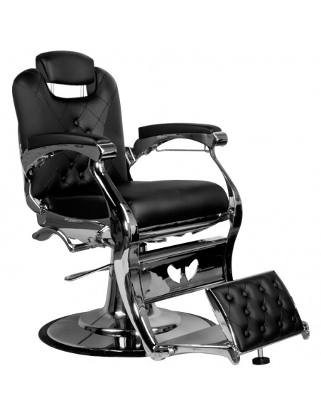 Barber Chair Alexandro in schwarz