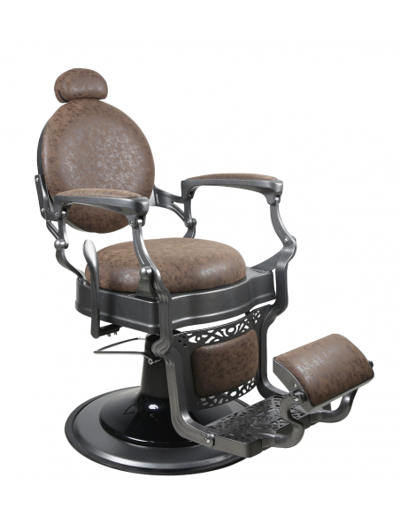 Barber Chair TOM in braun
