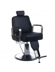 Barber Chair Friseurstuhl VINUS unisex in schwarz
