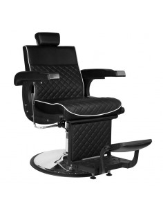 Barber Chair LUCA in schwarz