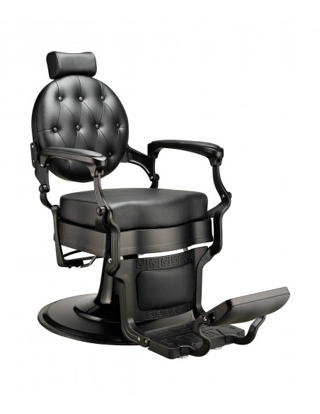 Barber Chair MAE in schwarz Vintage