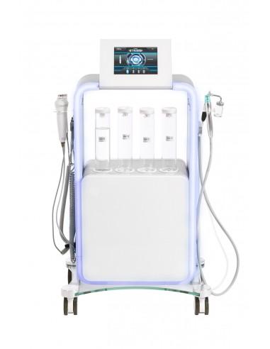 Profi Hydrogeneinheit 5 in 1/ Wasserstoff-Peeling/ Hydration/Spray /Ultraschall/ Radiofrequenz/Wärme/Kälte-Kopf