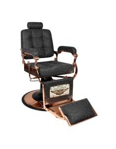 Barber Chair used look mit Kupferfarbenen Details
