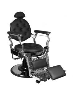 Barber Chair RETRO II silber