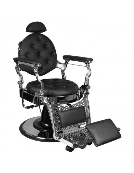 Barber Chair RETRO II silber