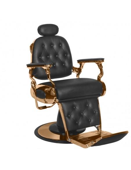 Barber Chair schwarz mit Kupfer