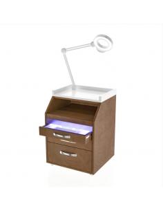 LIVIA Rollwagen Medi B inkl. Eingebaute bakterizide UV-Lampe Made in Europe