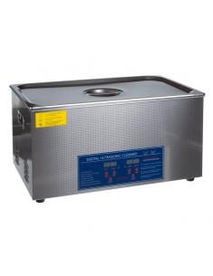 ULTRASCHALLREINIGER Sterilisator rostfreier Stahl 22L 600W
