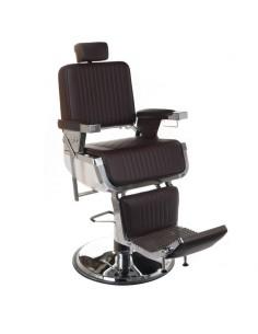 Herrenbedienstuhl Barber Chair SIMB H 58-73 cm BRAUN