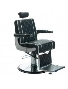 Herrenbedienstuhl Barber Chair ODEN schwarz